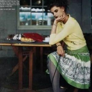 Anthropologie Odille French Village Skirt, size 2